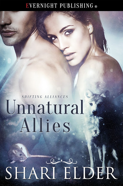Fab @ShariElderBooks visits the blog with new #PNR #shifter release Unnatural Allies @evernightpub