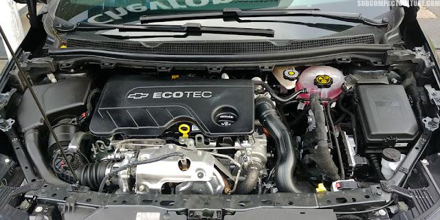 Chevrolet Cruze Diesel Ecotech Engine - Subcompact Culture