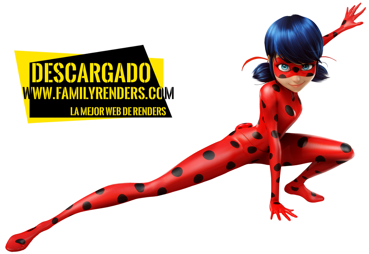 render lady bug