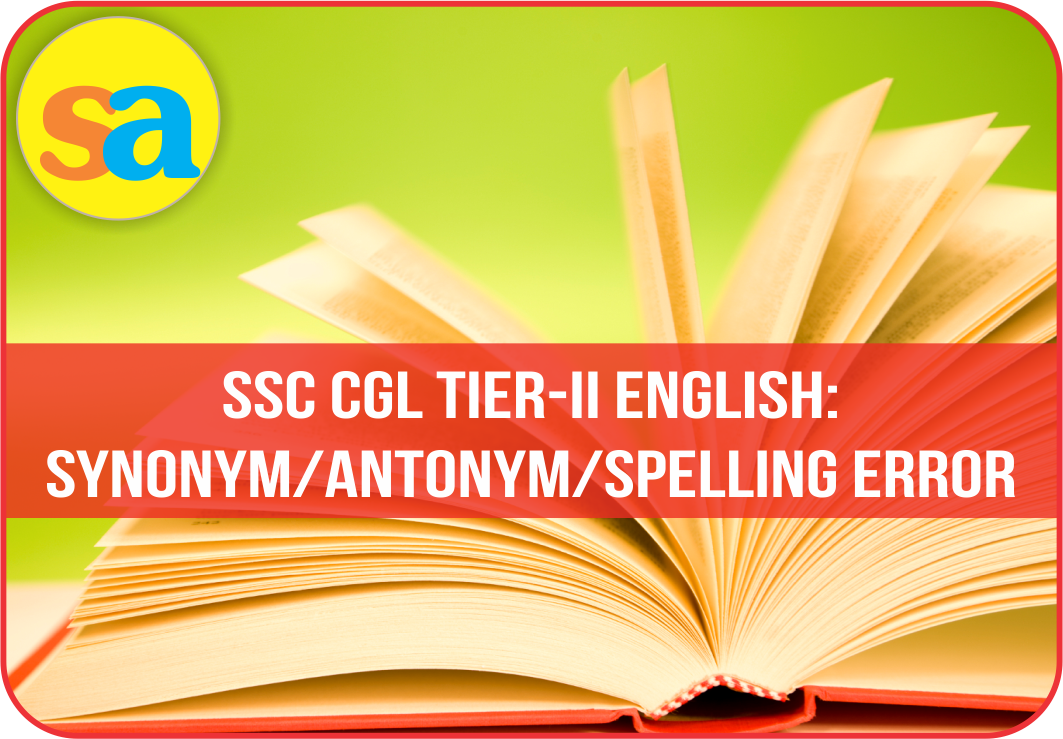 Important Vocabulary (Synonym) Quiz for SSC Exam