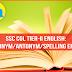 Synonym/Antonym Quiz for SSC CHSL Exam