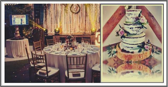pareri stil nunta rustica tort si rochie de mireasa in trend
