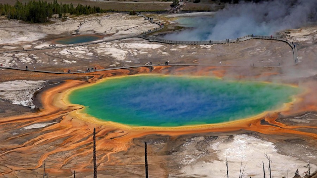7 choses à savoir sur le Grand Prismatic Spring