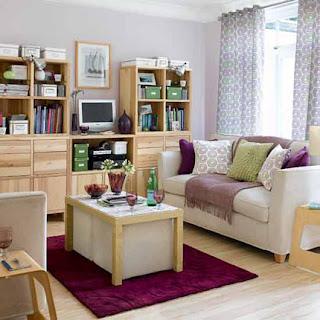 Desain Ruang Keluarga Mungil