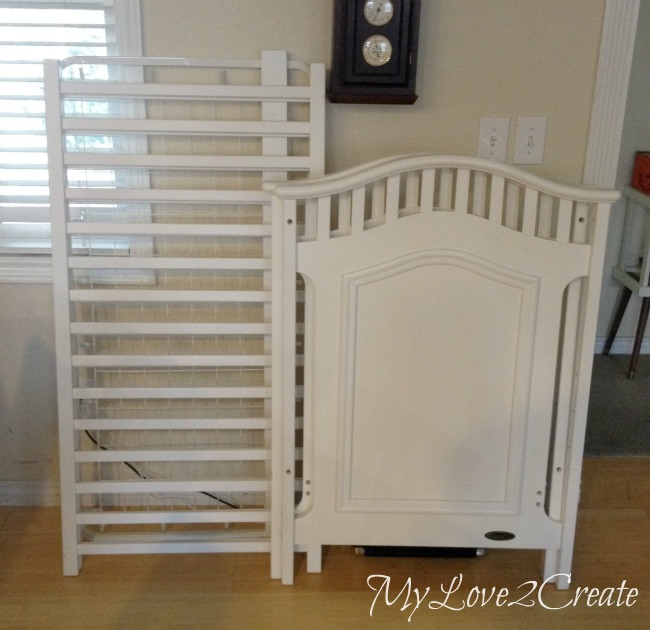 Turn An Old Crib Into An Awesome Dog Crate My Love 2 Create