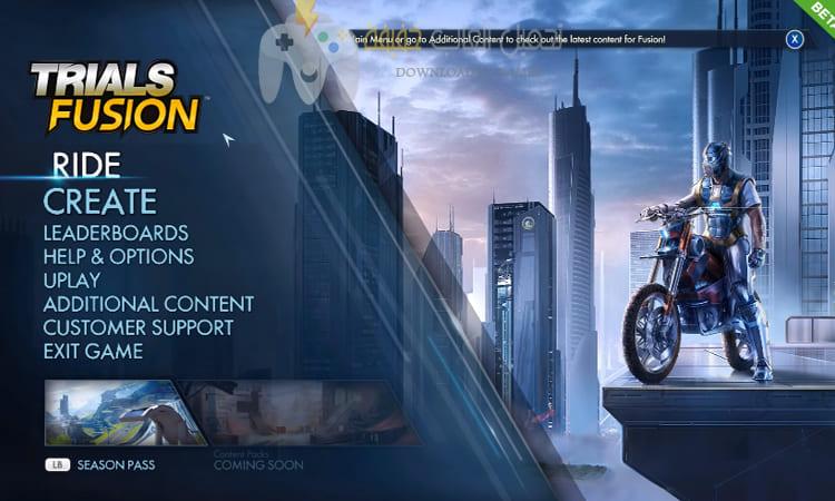 تحميل لعبة الدراجات النارية Trials Fusion للكمبيوتر برابط مباشر