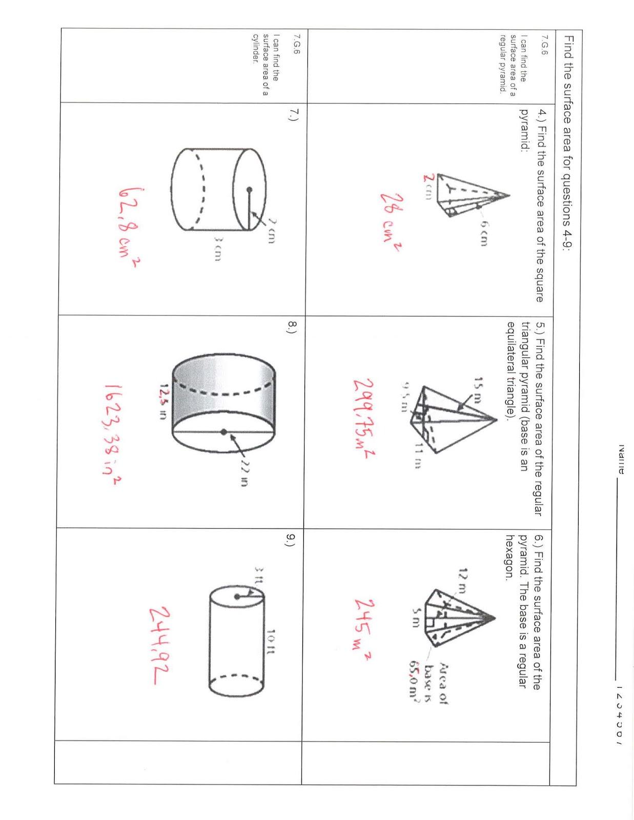 Hamilton Middle School 7th Grade Math