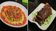 برنامج  الشيف 20-11-2016 طريقة عمل قالب لحمة بالسجق - فطيرة سمك بالاعشاب - شوربة طماطم بالجمبري مع الشيف شربيني