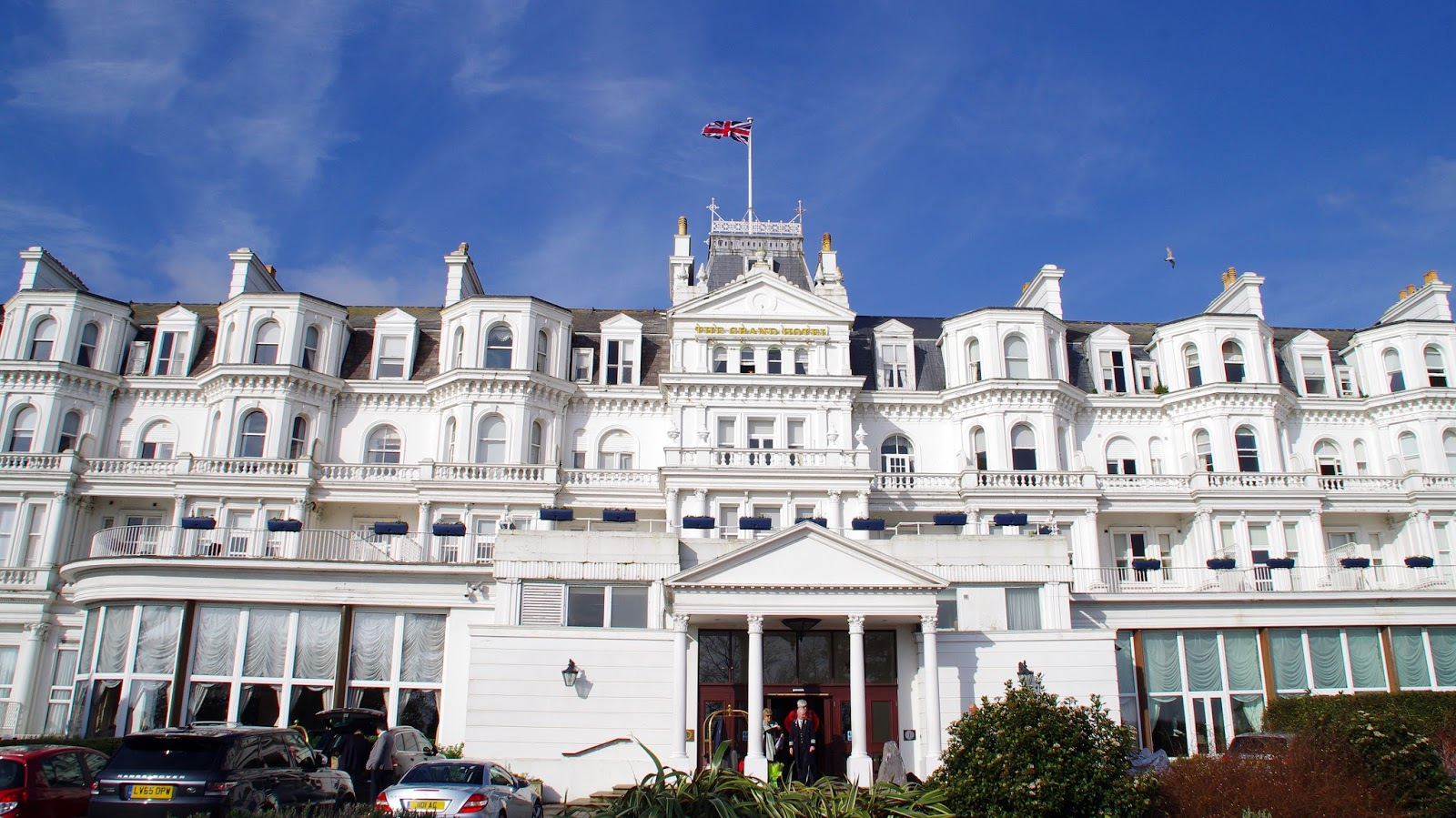 The Grand Hotel Eastbourne Exterior