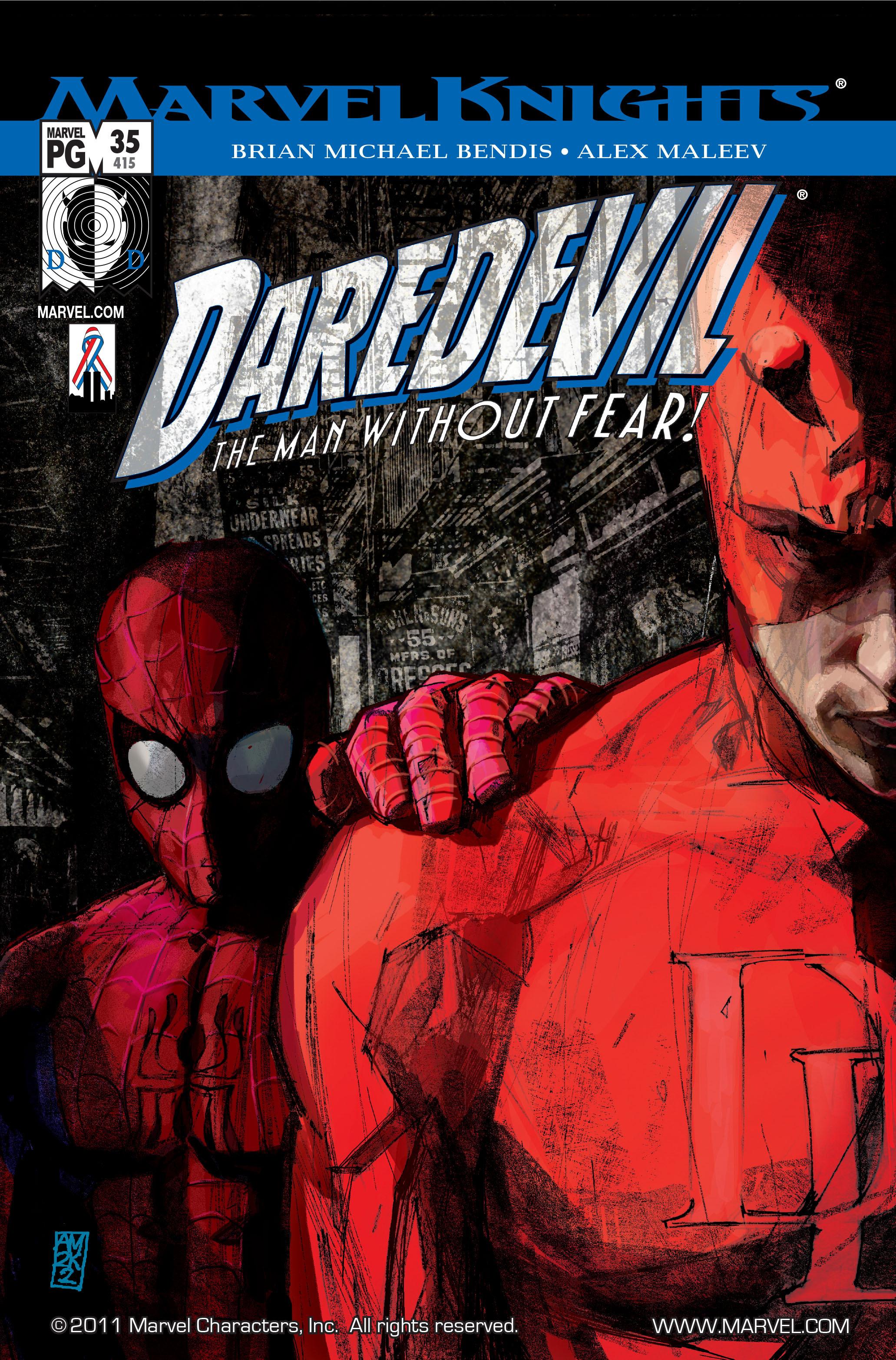 Daredevil (1998) 35 Page 1