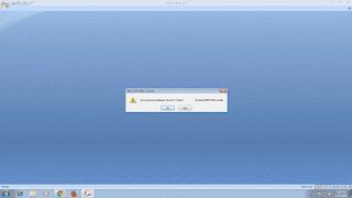 Microsoft Access 2007 Unrecognized Database Format .accdb File