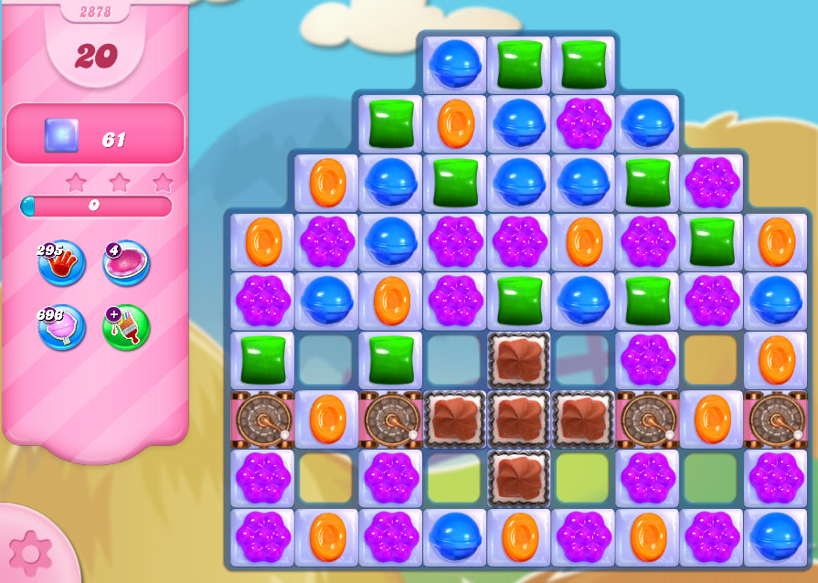 Candy Crush Saga level 2878