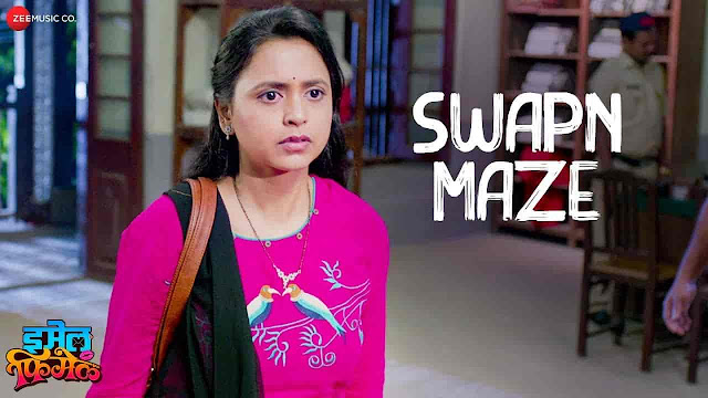 Swapn Maze Lyrics - Email Female | Javed Ali, Aanandi Joshi