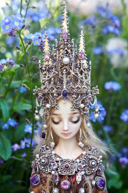 realistic porcelain dolls by Marina Bychkova