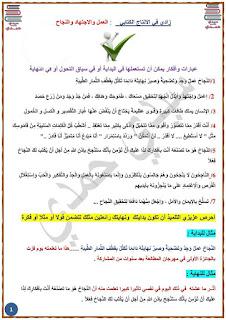 2 - زادي في الإنتاج الكتابي لمناظرة السيزيام