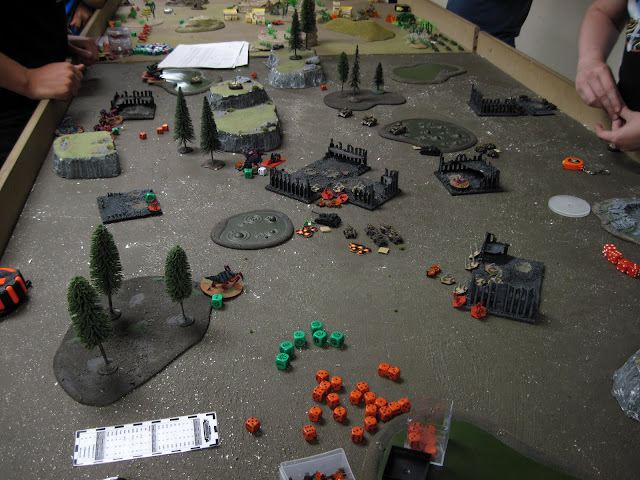 Jon's bugs and Scarik's Minervans still have some work to do.