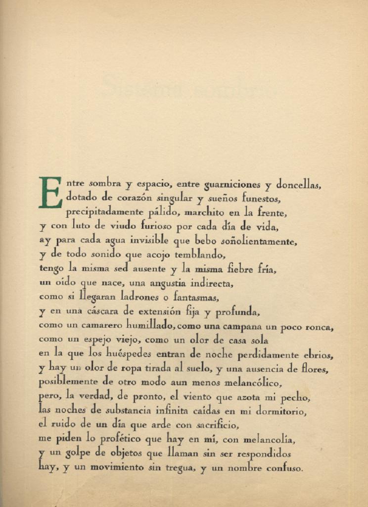 Pablo Neruda: ARTE POÉTICA
