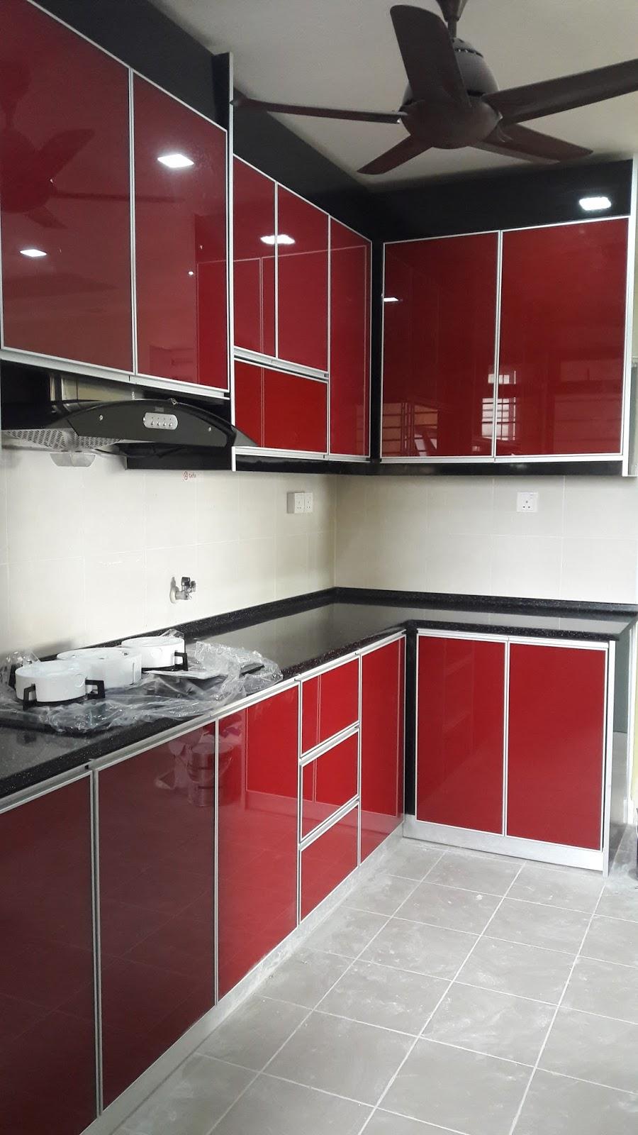 kabinet dapur terus dari kilang Kabinet dapur D  palma
