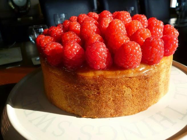 Lemon madeira cake Recipe with Raspberries afternoon tea ideas
