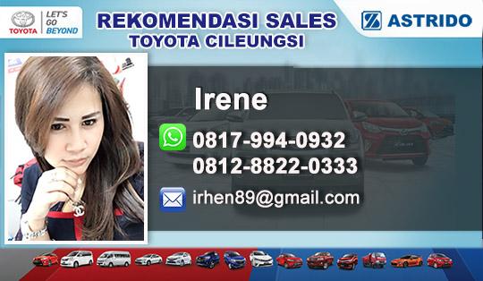 Rekomendasi Sales Toyota Cileungsi