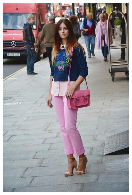 Pantalones De Color Rosa Mujer 2017 Moda Y Tendencias 2019 2020 Somosmoda Net