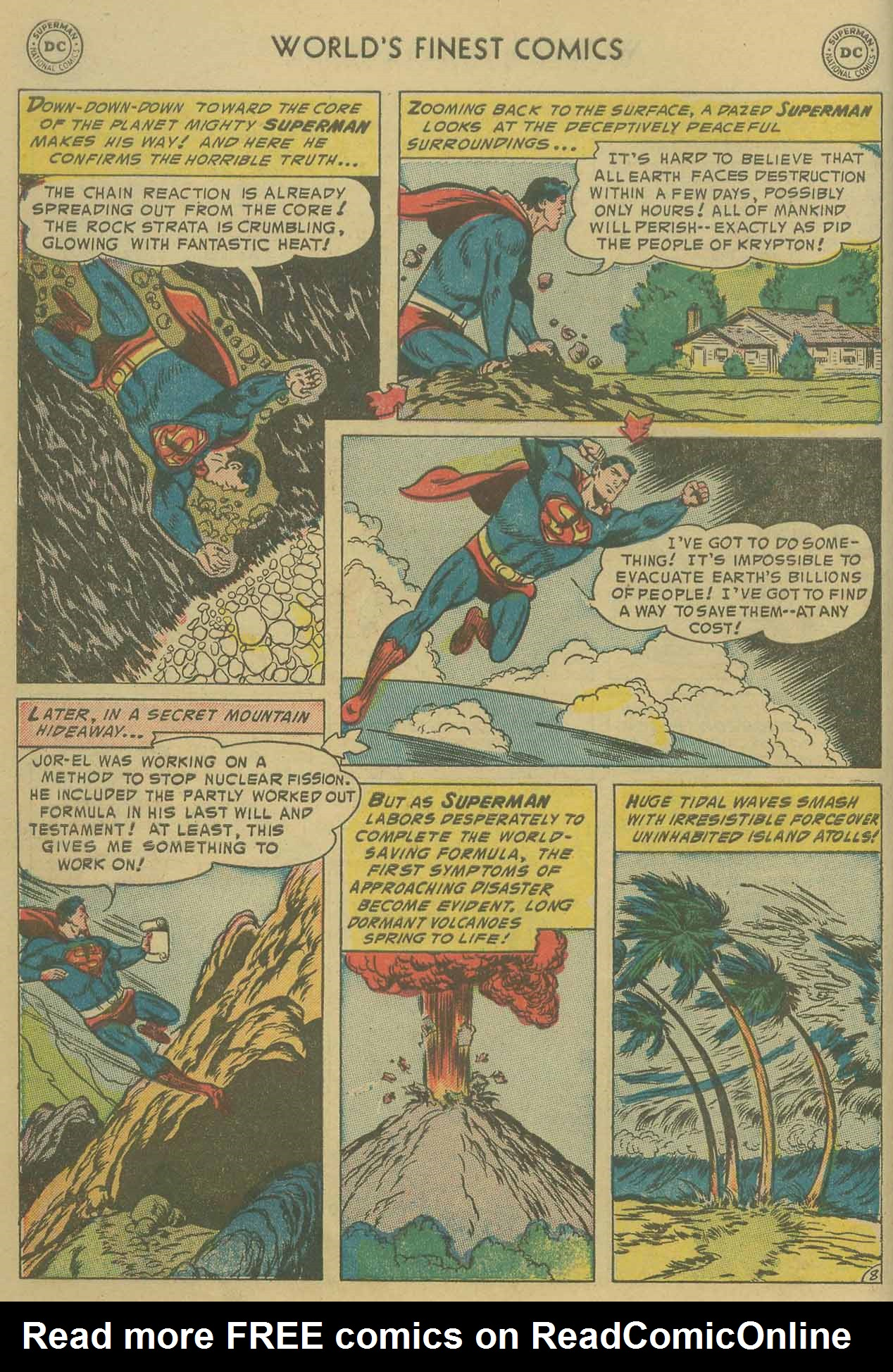 Read online World's Finest Comics comic -  Issue #69 - 10