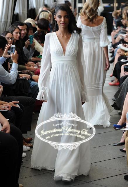 vestido de noiva sem renda
