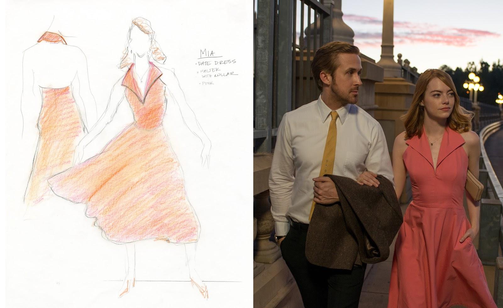 Emma Stone y Ryan Gosling en LaLaLand