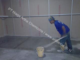 jasa floor hardener untuk fitness center