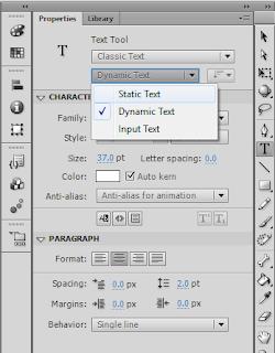 Membuat Input Teks Dan Memunculkan Dynamic Text di Frame Berikutnya