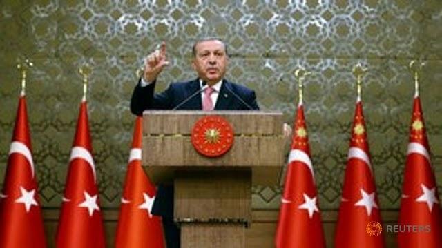 Ερντογάν: Η Δύση υποστηρίζει την τρομοκρατία και τους πραξικοπηματίες