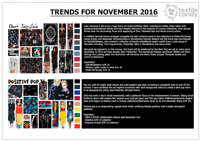Textile candy, Autumn/Winter 2016, AW16, textile design, print trends, fashion trend, winter trends, fall trends, printed textiles, print design, textile design