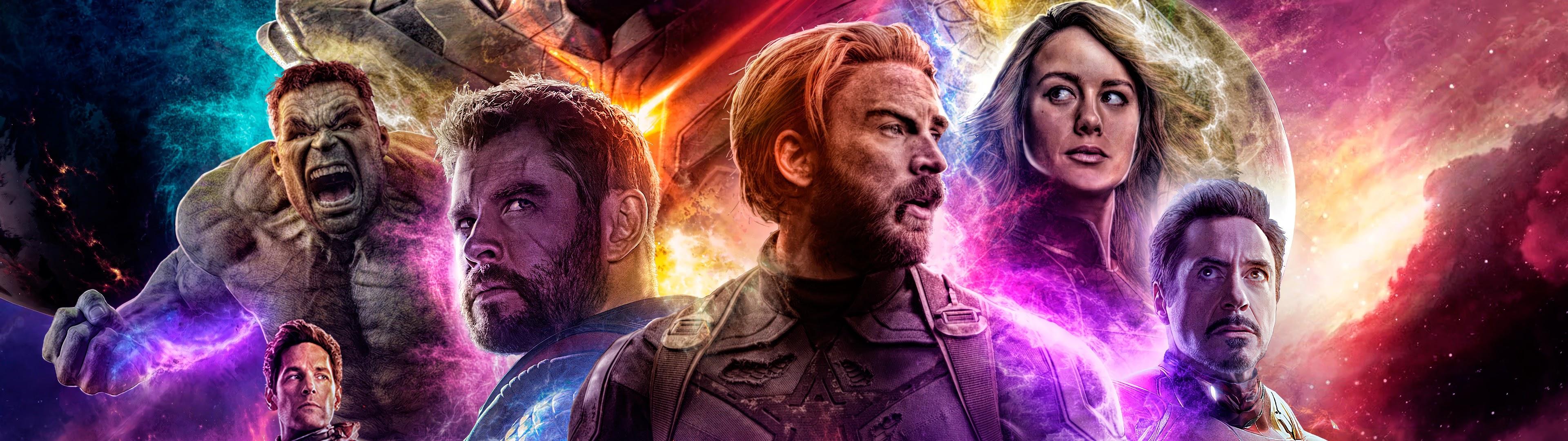 Thanos Infinity Gauntlet Avengers Endgame Cast 4k Wallpaper 36
