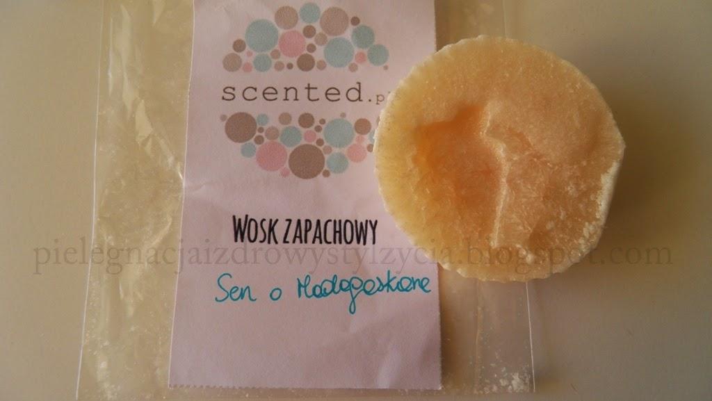 Woski zapachowe handmade od Scented.pl: Sen o Madagaskarze i Kawa z mlekiem
