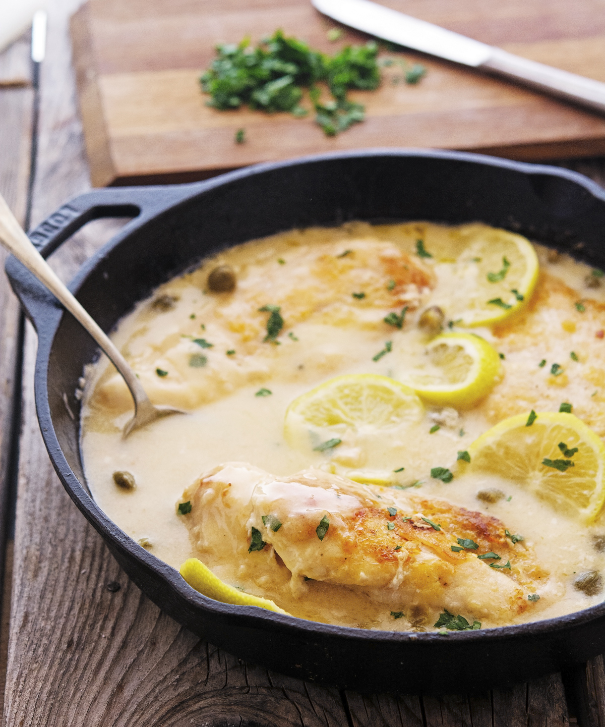 Creamy Lemon Chicken Piccata