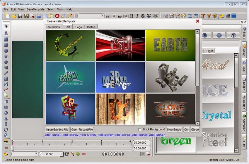 Aurora 3D Animation Maker Download