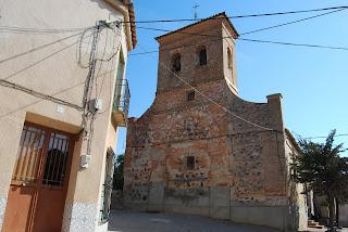 Iglesia Parroquial de San Juan Bautista en Marjaliza