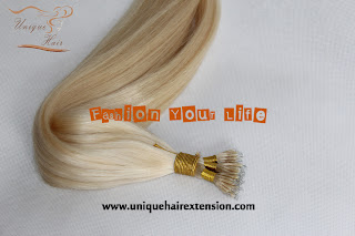 European remy hair extensions nano ring