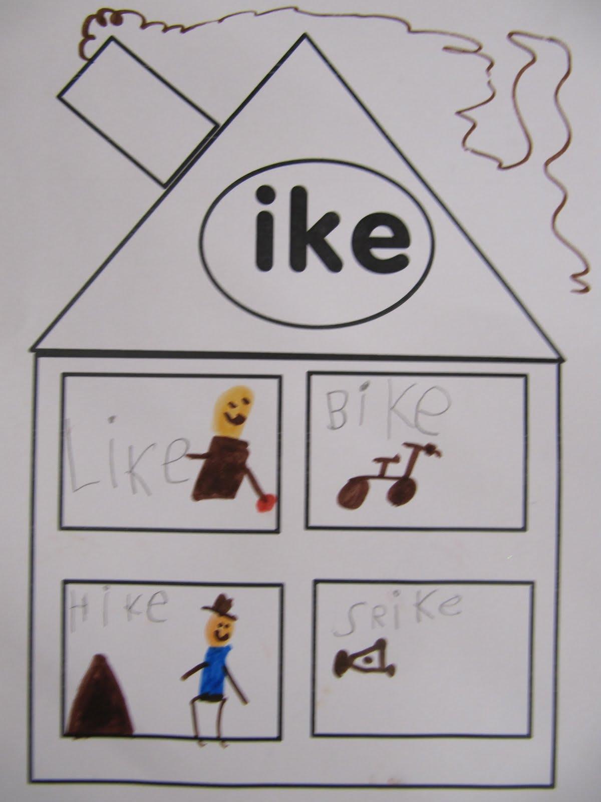 Joyful Learning In Kc Word Family Ike