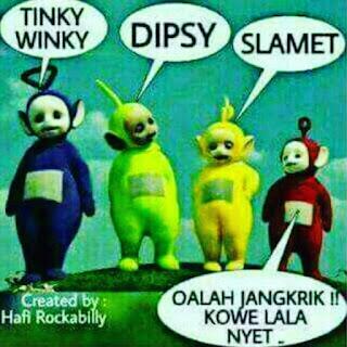 15 Meme Teletubbies Indonesia Lucu yang bikin Ngakak