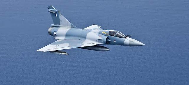 Πτώση μαχητικού Mirage 2000 νότια των Σποράδων - Σώος ο πιλότος