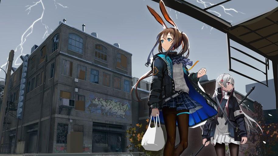 Anime, Girls, Arknights, Amiya, Warfarin, 4K, #6.539