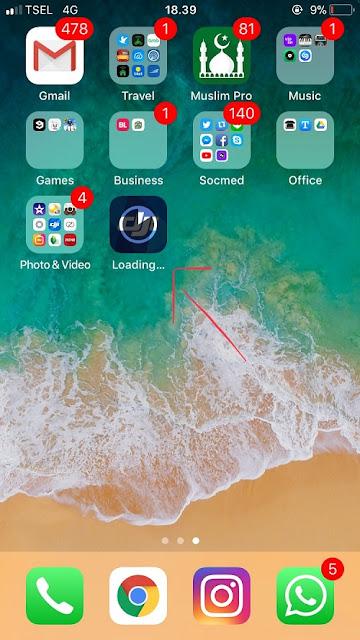 Cara Mendownload Aplikasi lebih dari 150mb di iphone tanpa jailbreak