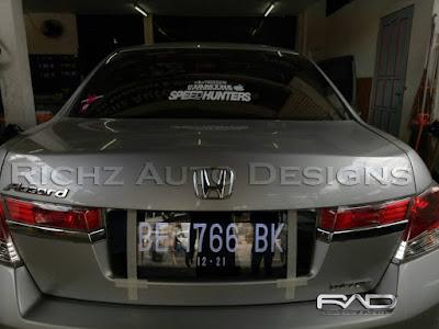 plat nomor mobil grafir honda accord 2011