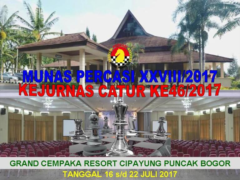 Download Regulasi Kejurnas Catur Ke46/2017