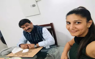 Sapna Choudhary Manoj Tiwari BJP Mein Shamil nahi hue