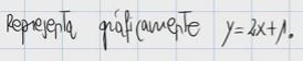 1.Representación gráfica de una función afín (recta) 1