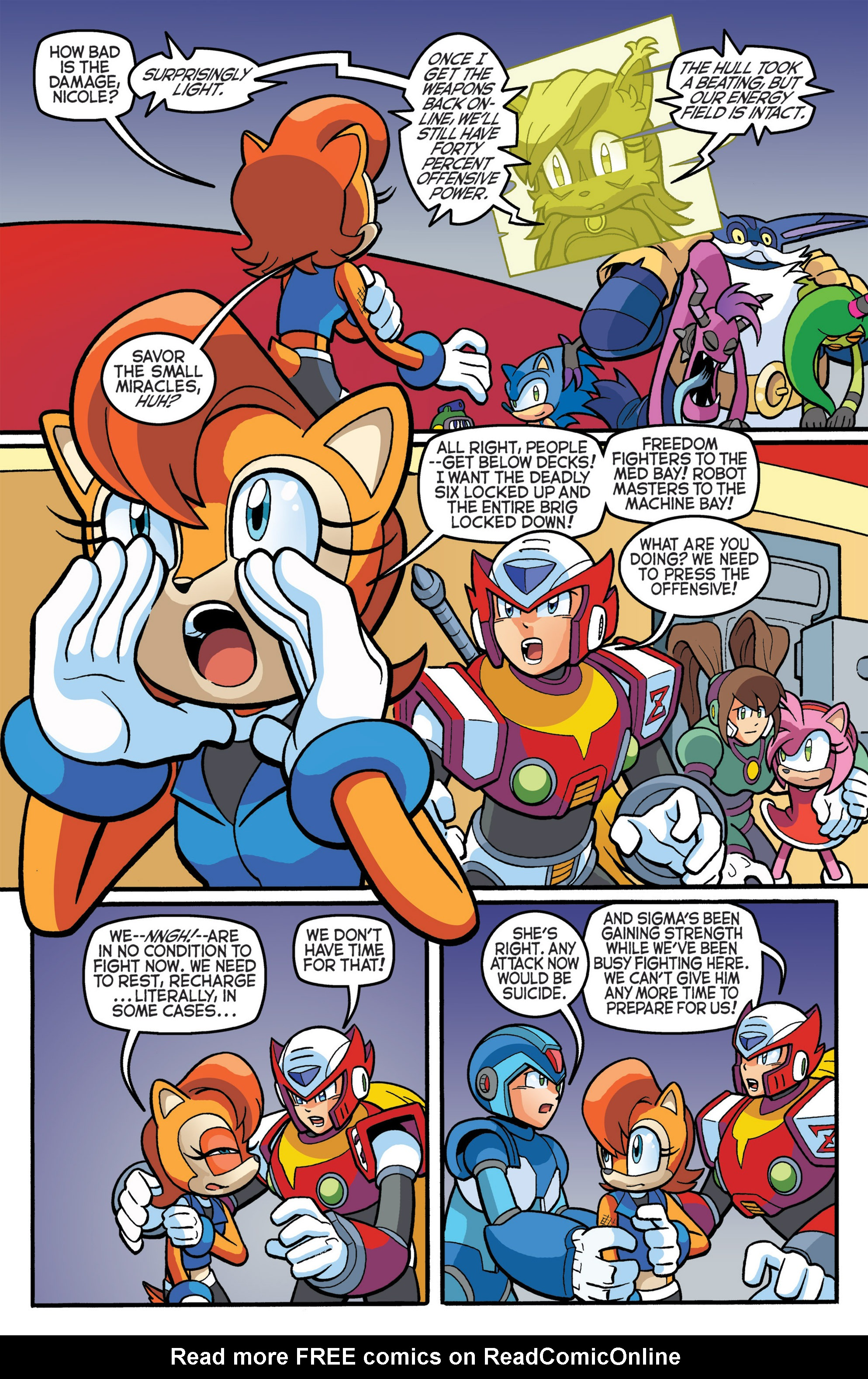 Read online Sonic The Hedgehog comic -  Issue #274 - 18