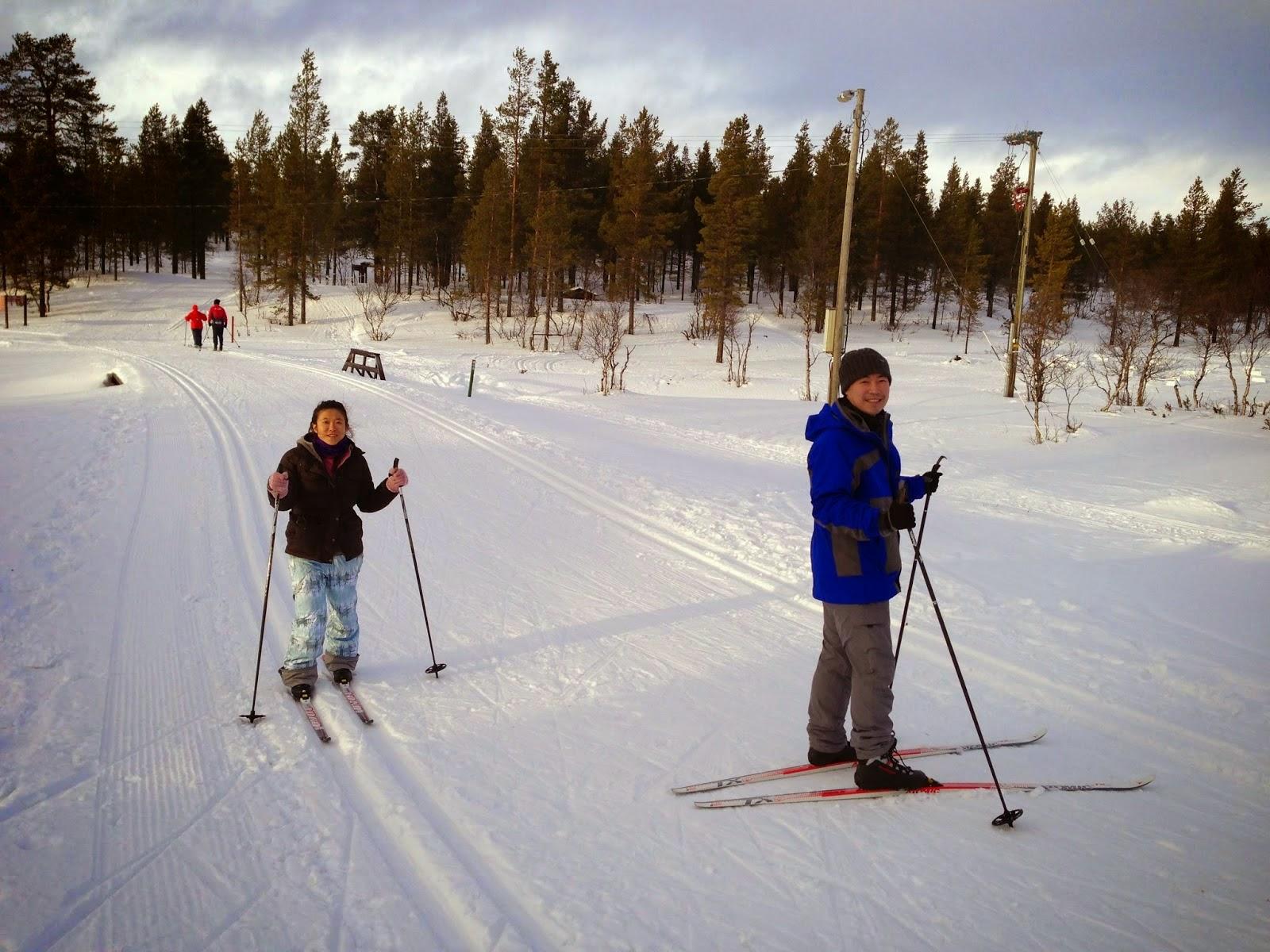 Skiing Kilopaa Fell Finland