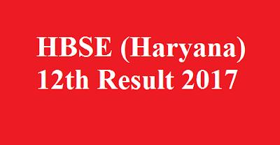 Haryana 12th Result 2017